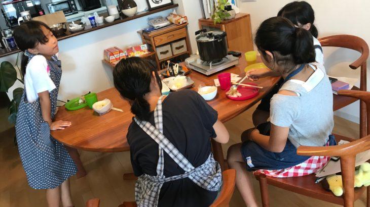 【2019年8月3日開催】夏休みの自由研究のヒントに 防災とポリCOOK